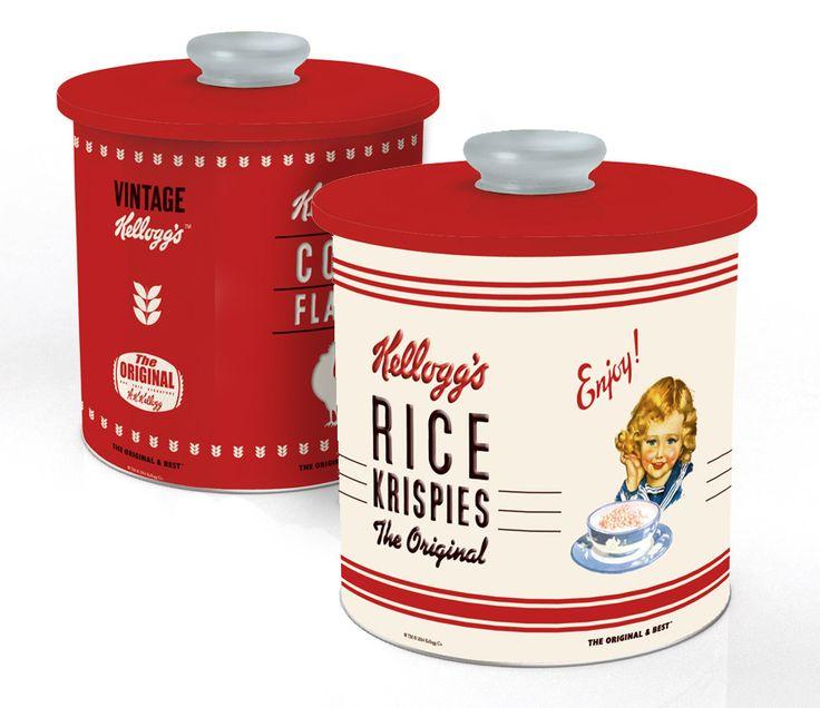 Création d'une gamme de produits sous licence Kellogg's : boites à cookies