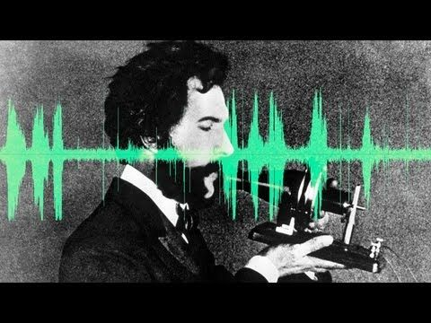 The voice of Alexander Graham Bell, inventor of the telephone.
