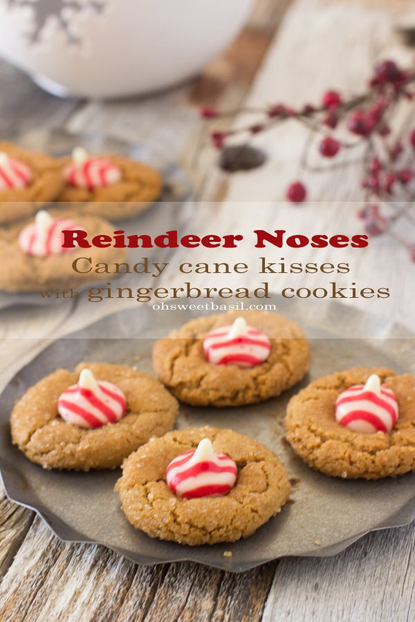 Reindeer noses!! The perfect cookie to make with the kids and leave out for Santa, ohsweetbasil.com-2