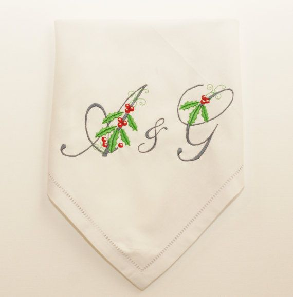 Napkins -personalized-christmas-table