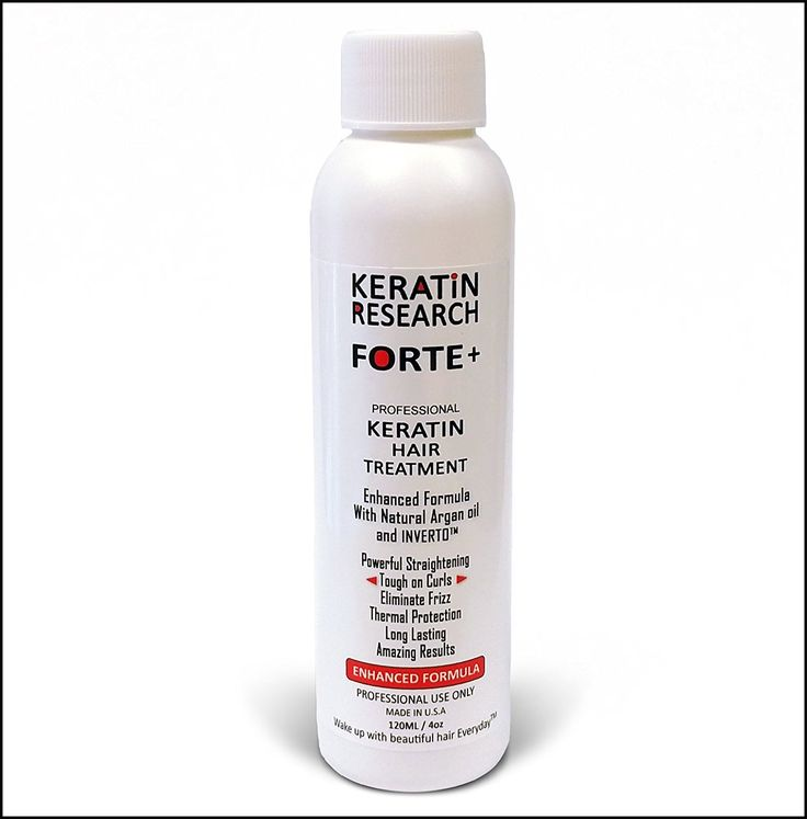 Keratin Forte Plus, Brazilian Keratin Blowout Treatment Extra Strength 120ml Enhanced Formula for Curly Hair Made in USA By Keratin Research *** More details can be found by clicking on the image. #hairenvy