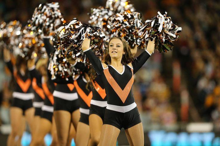Wests Tigers Cheergirls.