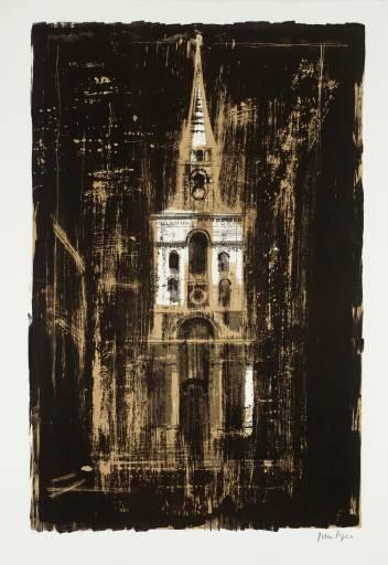 John Piper / Spitalfields
