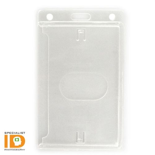 Vertical 70 - 90 Mil ProxCard II / Thick HID Proximity Card Holder (SPID-PROX-V) and more Rigid Plastic Holders. Order online now! Great prices and free shipping on most orders from SpecialistID.com