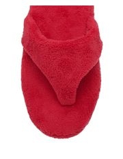 Soho: towelling slipper (scarlet)