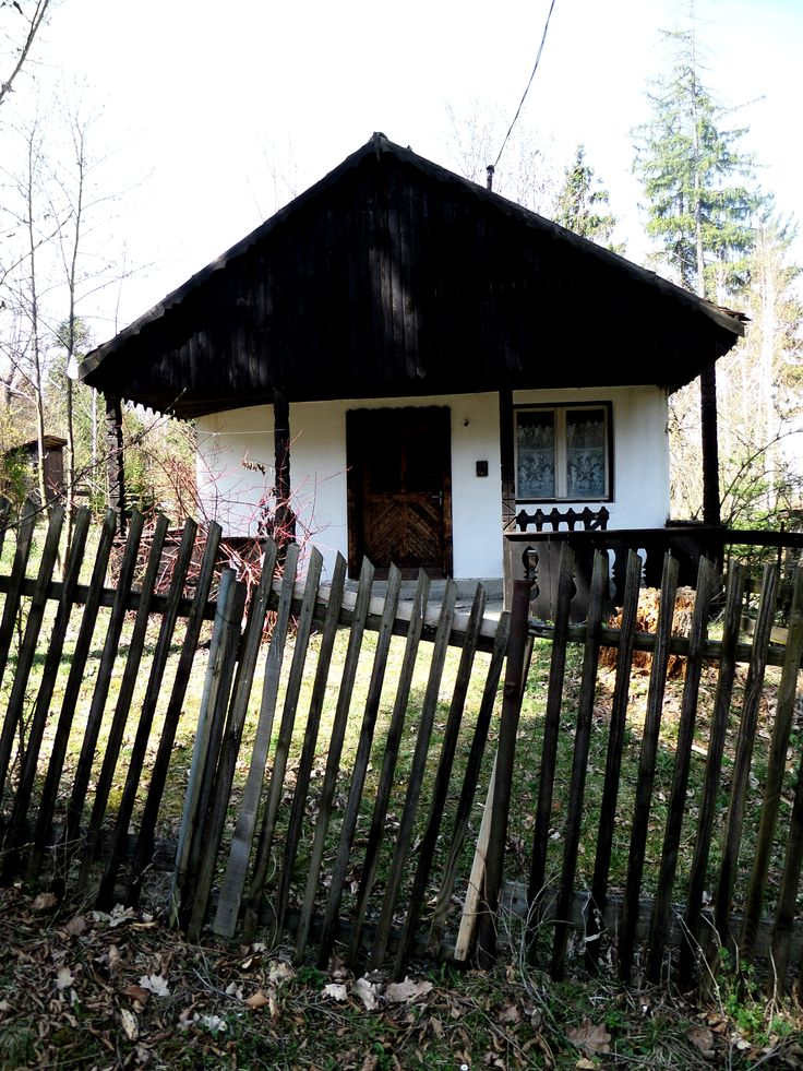 Elhagyatott ház.  Deserted house.