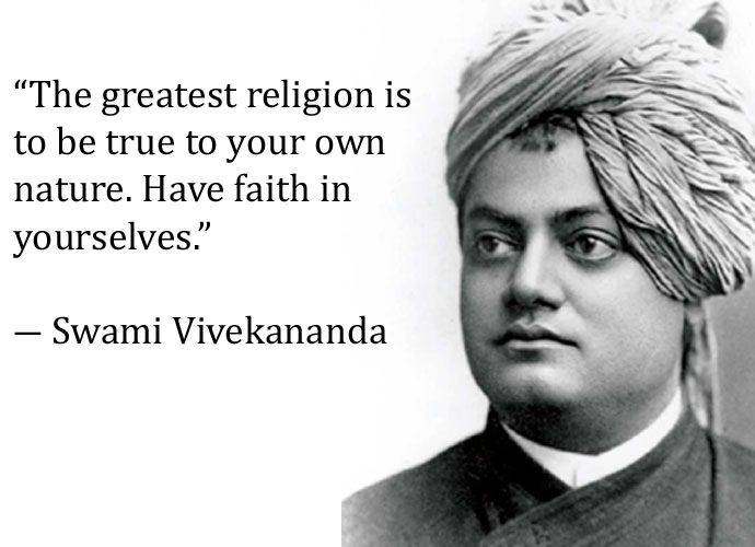Today Our Nation Is Celebrating Swami Vivekananda's 155th