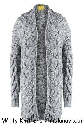 Knitted pattern / СХЕМА http://mslanavi.com/2014/10/vyazanye-palto-i-kardigany-spicami-s-shirokimi-kosami/  вязаные пальто +и кардиганы спицами Witty Knitters