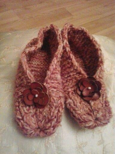 Slippers#knitting