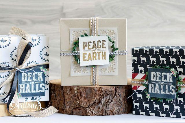 The Stamping Blok: Stampin' Up! Artisan Blog Hop | Introducing Carols of Christmas