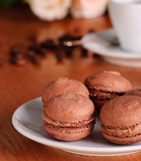 Nigel Brown's chocolate macaroons