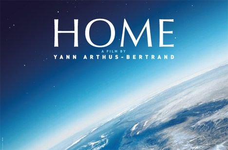 Home is a 2009 documentary by Yann Arthus-Bertrand. The film is almost entirely composed of aerial shots of various places on Earth. It shows the diversity of life on Earth and how humanity is threatening the ecological balance of the planet.