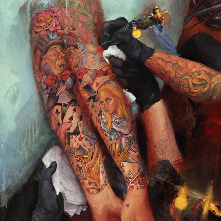 Tattoo Portraits by Shawn Barber