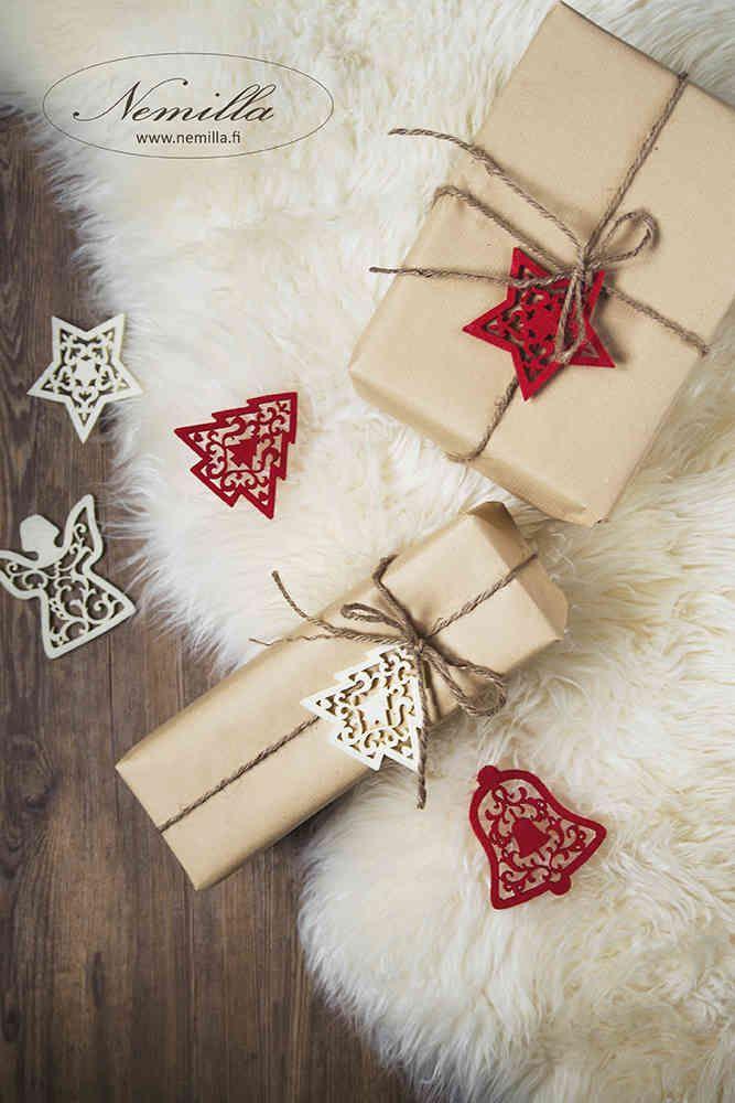 PAKETOINTIPALVELU JOULU - www.nemilla.fi #paketointipalvelu #joulupaketointi #lahjapaketti #lahja