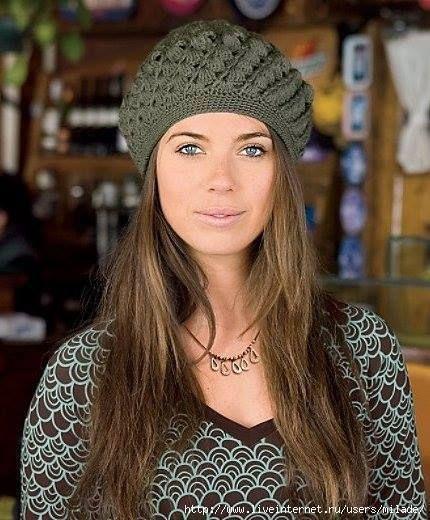 Los más envidiables Gorros a crochet - 10 Patrones | CTejidas [Crochet y Dos Agujas]