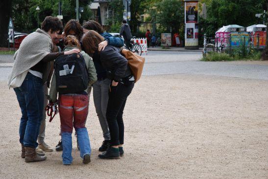 WALK WITH CHRYSSA TSAMPAZI: AS IF IT WERE POSSIBLE. Berlin 30 June 2013. Picture  Art & Tours.