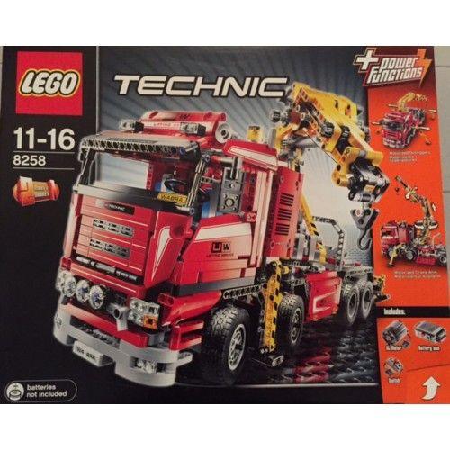 top 25 best lego 8258 ideas on pinterest lego technik lego technic and lego technic truck. Black Bedroom Furniture Sets. Home Design Ideas