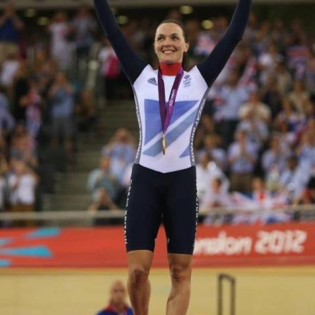 Victoria Pendleton - Keirin gold medal winner 2012 Olympics - Team GB