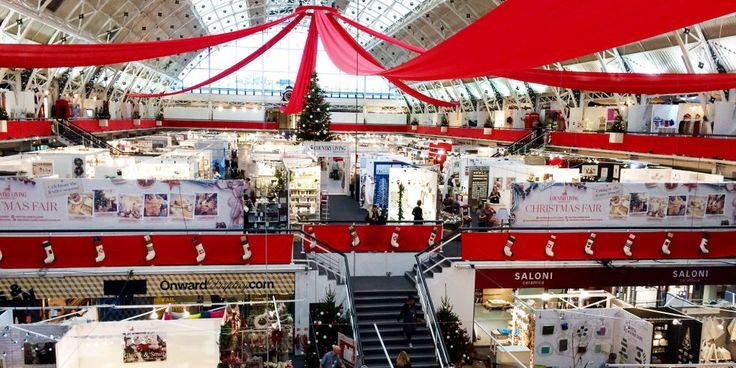 Country Living christmas fair london 2016