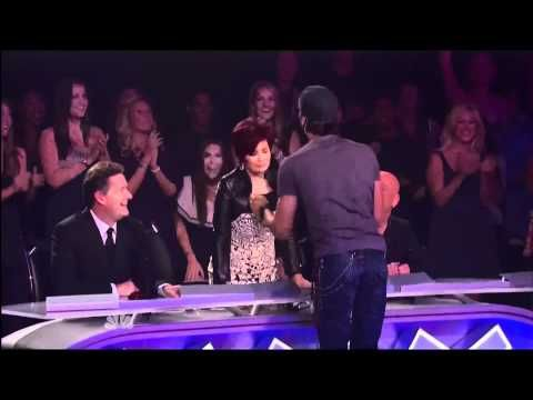 Enrique Live on America Got Talent TOP 10 - I Like It - YouTube