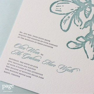 36 best wedding invitations images on pinterest letterpress wedding invitation wording rules for honorhonour stopboris Image collections