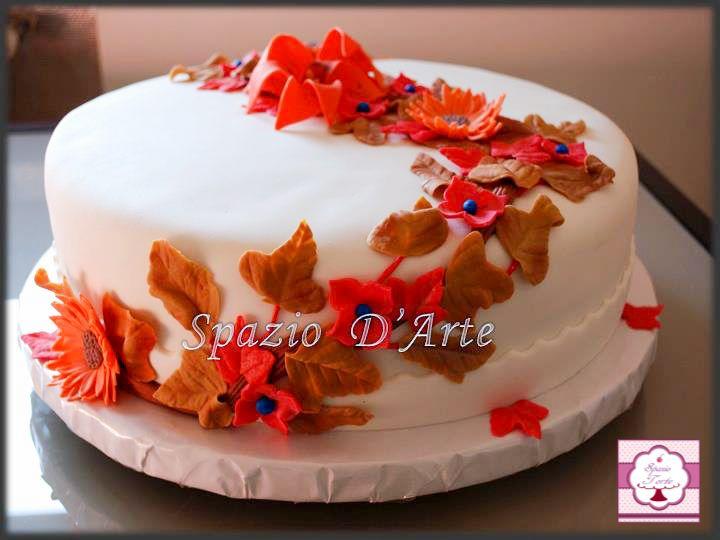 Torta Fiore Autunno