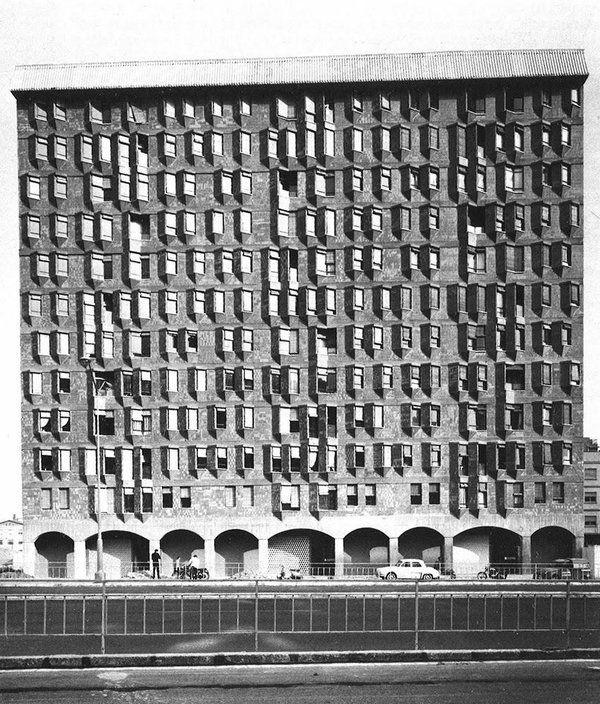 J.M. Martorell + O. Bohigas + D. Mackay_Barcelona, Casa Meridiana 1965
