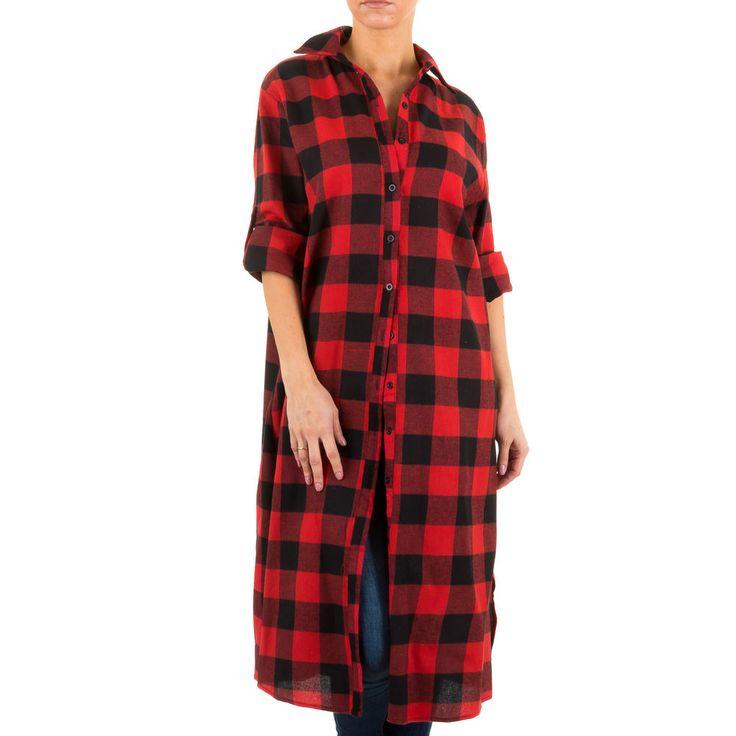 Dieses extra lange Hemd im angesagten Karo-Look ist ein tolles Basic.