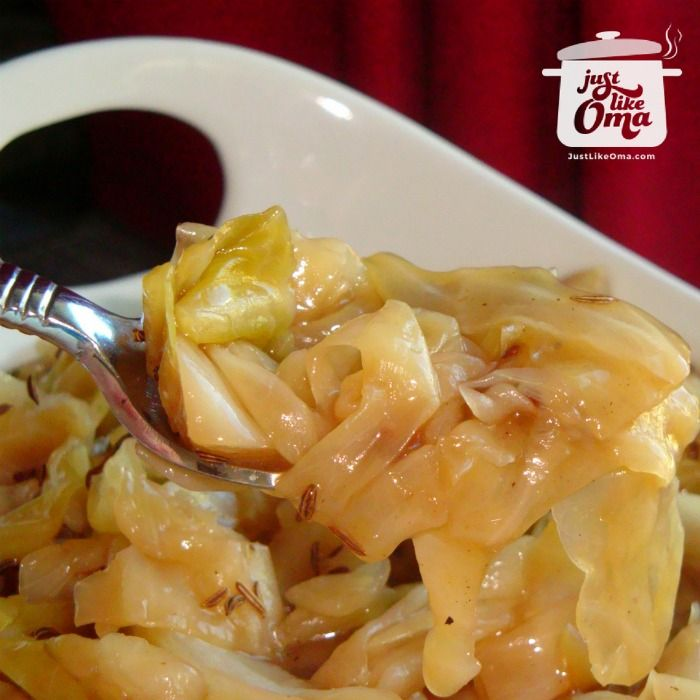 Bavarian Braised Cabbage is so good! Check this out: http://www.quick-german-recipes.com/braised-cabbage-recipe.html