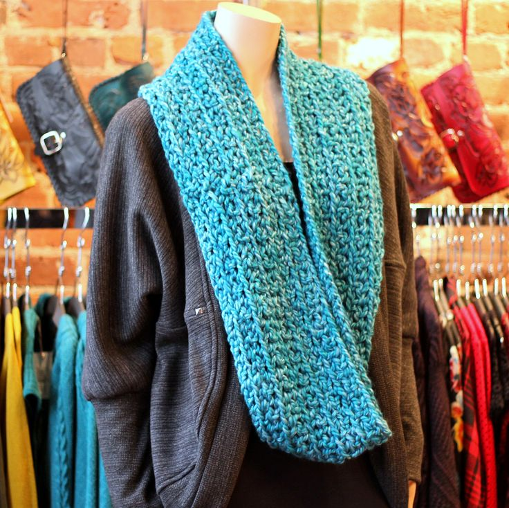 The Gift of Warmth! Oversized Dex Cardi & Large Infinity Scarf, locally made