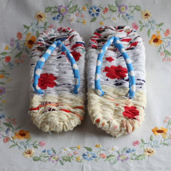 VANESSA 100 handmade flipflop ZORI. by Macotties on Etsy