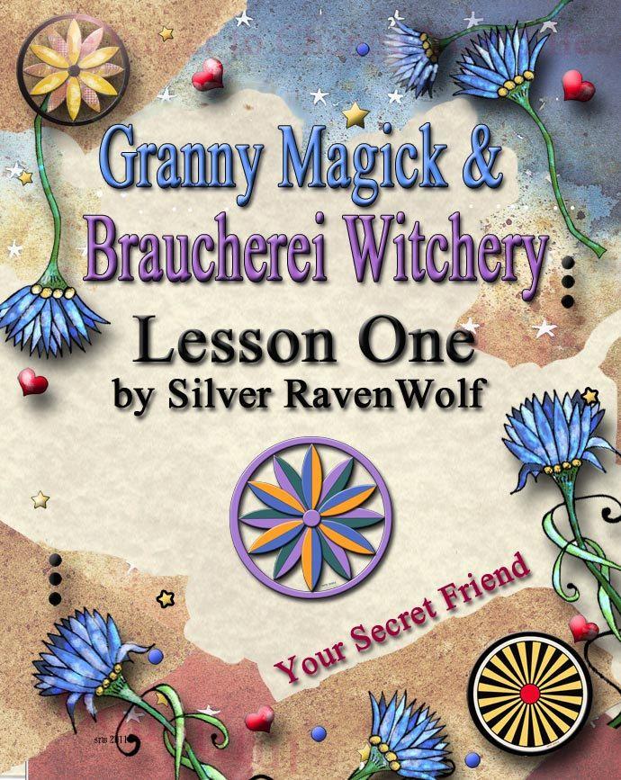 Granny Magick Braucherei Pa Dutch PowWow The Art of Whisper Magick Course Lesson One Digital Download
