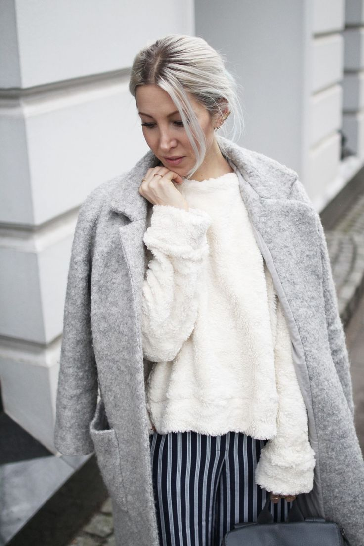 Jan 'n June, Fair Fashion, Teddy, Ganni, Stripes, Asos, Coat, minimal, Design, Matt & Nat, Stella McCartney, ootd, Outfit, lotd, Look, Style, Streetstyle, Winter, Fashion, Inspiration, Blog, stryleTZ