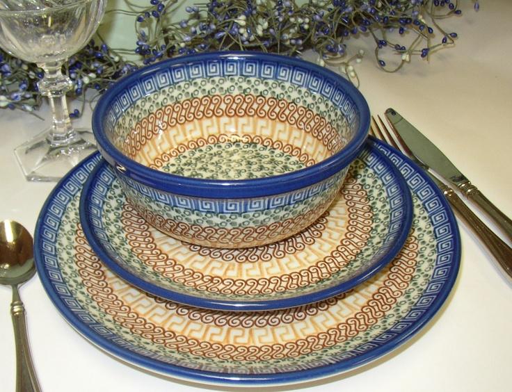 Polish Pottery & 171 best Polish Pottery images on Pinterest | Polish pottery Dish ...