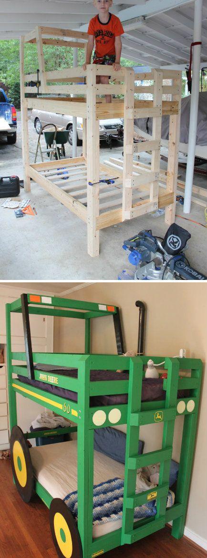 Tractor Bunk Bed