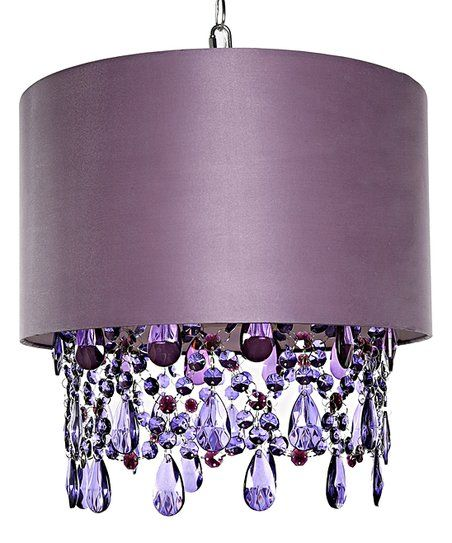 Tracy Porter Purple Crystal Alisal Hanging Pendant Light Zulily