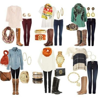 Ready to wear cute cozy autumn boots, sweaters, and scarves! #fall #boots #fashion