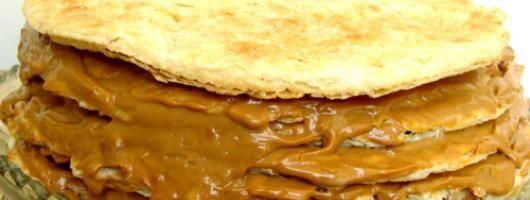 Torta de milhojas y su receta