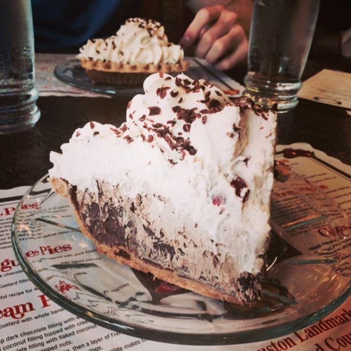 """""""Any slice of pie at House of Pies!"""" Houston"""