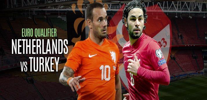 Live – Netherlands vs Turkey  – EURO 2016 – Qualification -group A