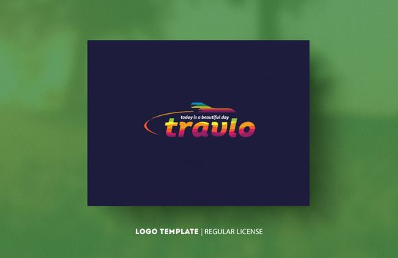 Travlo-Template-Logo by Cre8iveSense on Creative Market