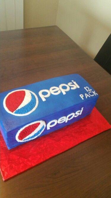 Pepsi cake theme