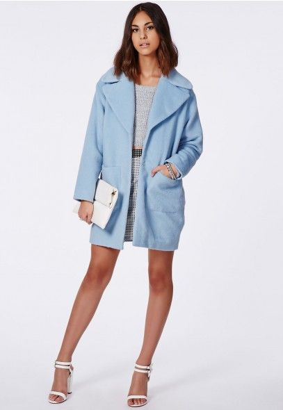 Always wanted a coat like this, pastels are definitely sticking around for winter and that makes me so happy! #MissguidedAW14