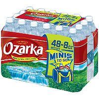 Ozarka® Natural Spring Water - 8 oz. - 48 pk. - Sam's Club
