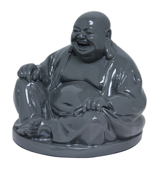 The Laughing Buddha - Grey