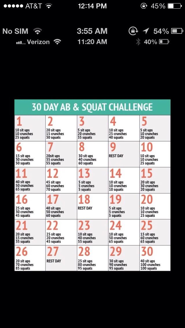 How To Get Abs In 30 Days!
