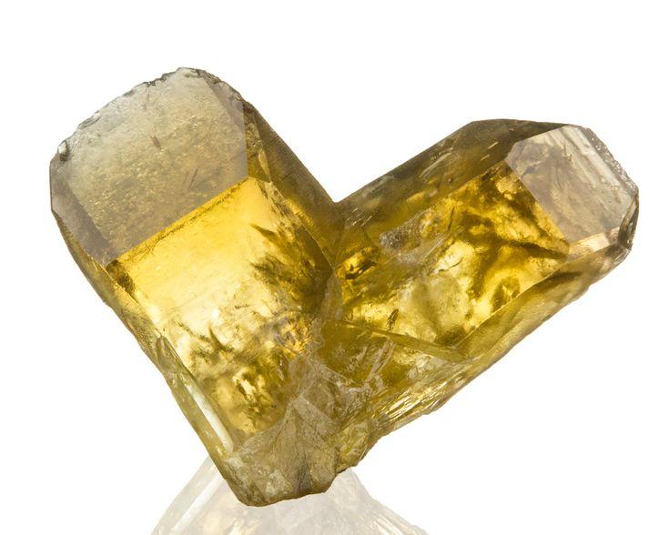 3 GoldenYellow CITRINE QUARTZ SharpGemmy JAPAN LAW Twin Crystal Zambia