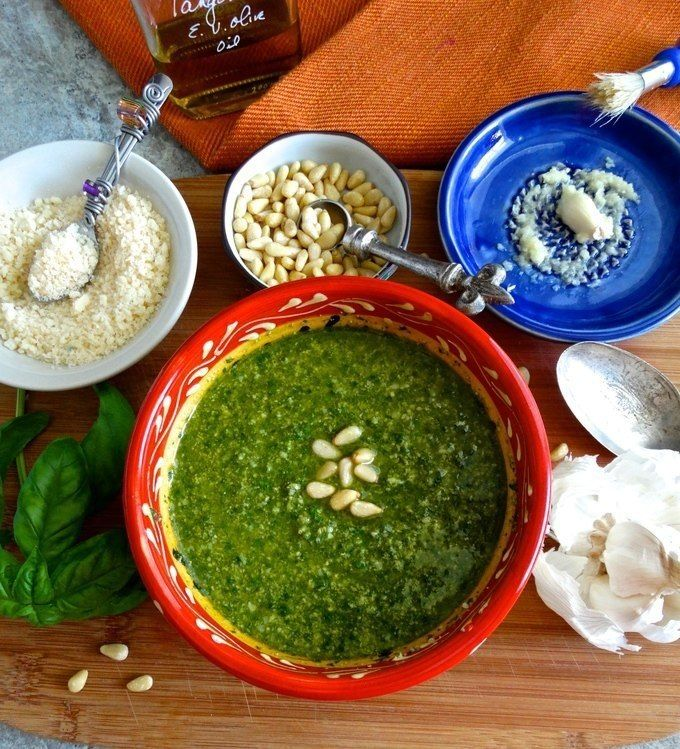 Citrus Basil Pesto adds lemon and tangerine olive oil to the basic pesto recipe. The additional of citrus makes it bright fresh, and healthy. Love it? Pin it to SAVE it! Follow Living Linda on Pint…