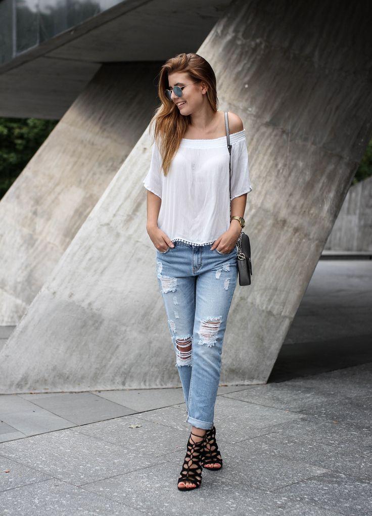 PAULINA #topbyguesswhat #polishgirl #girl #ootd #chic #jeans #heels