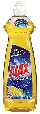 14 Oz Ajax Lemon Scent Dish Soap,No 44668,  Colgate Palmolive Co